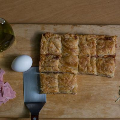 Ham & Cheese Patties